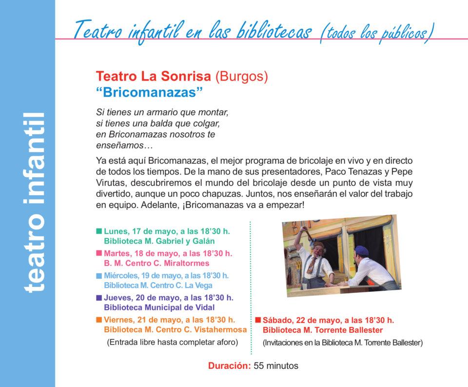 Salamanca Teatro La Sonrisa Mayo 2021
