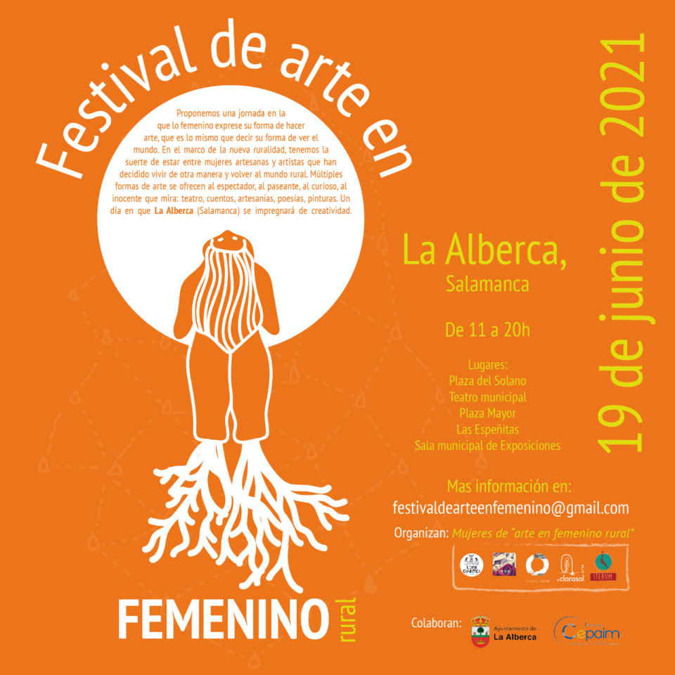 La Alberca Festival de Arte en Femenino Rural Junio 2021