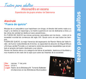 Torrente Ballester Alavirulé Salamanca Junio 2021